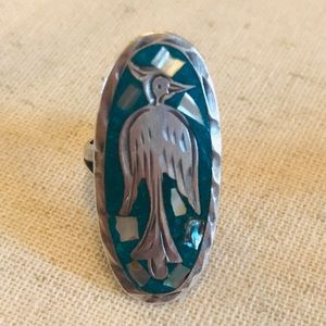 Jewelry - Authentic Zuni Sterling Silver + Turquoise Ring